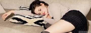 Kristen Stewart in Bed Fb Cover