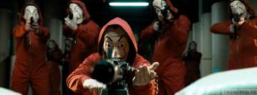 La Casa De Papel Facebook cover photo