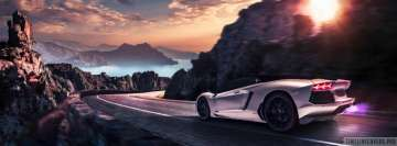 Lamborghini Aventador LP-700 Facebook Background TimeLine Cover