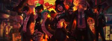 League of Legends Ashe Caitlyn Jinx Kalista Miss Fortune Quinn Sivir Tristana Vayne Facebook Cover Photo