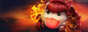 League of Legends Poro Annie Facebook Background TimeLine Cover