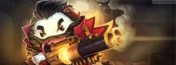 League of Legends Poro Graves Facebook Wall Image