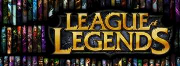 League of Legends Heroes Facebook Cover Photo