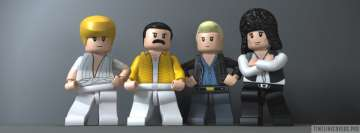 Lego Queen Facebook Cover-ups