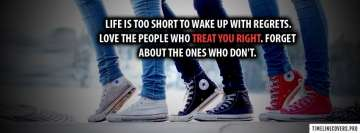 Life is Too Short Fb Cover