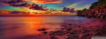 Life Love Hope Dream Sunset Facebook Cover Photo