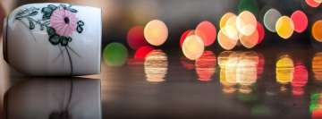Lights Poured Out of my Cup Facebook cover photo