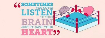 Listen to Your Brain to Save Your Heart Facebook Banner