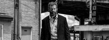 Logan Black and White Hugh Jackman