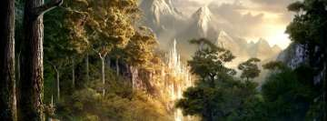 Lord of The Rings Landscape Facebook Banner