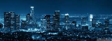 Los Angeles Cityscape Fb Cover