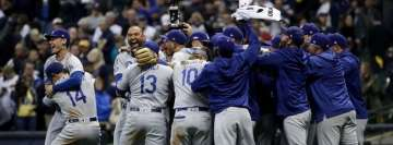 Los Angeles Dodgers Celebrate Facebook Cover Photo