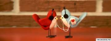 Love Birds Listening to Music