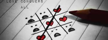 Love Conquers All Facebook Background TimeLine Cover