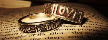 Love is Blind Rings Facebook Cover