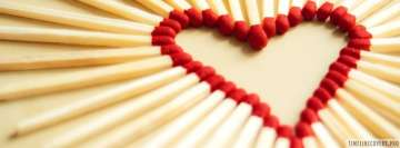 Love Matchsticks Facebook Wall Image