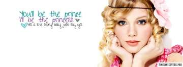 Love Story Taylor Swift Facebook Cover Photo
