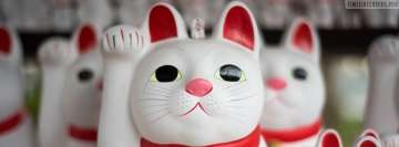 Lucky Charm Cats from Japan Facebook Banner