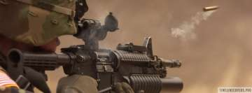 M4 Assault Rifle Facebook cover photo