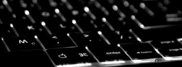 Macbook Pro Backlit Keyboard Facebook Cover