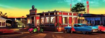 Mambo Diner Vintage Facebook Cover Photo