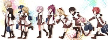Manga Girls Facebook Cover