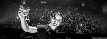 Martin Garrix Cheers Facebook cover photo
