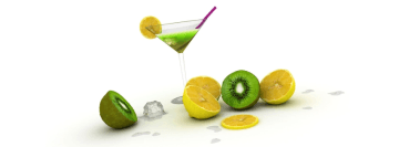 Martini Lemon Kiwi