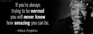 Maya Angelou Quotes Amazing Fb Cover