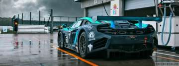 Mclaren Race Car Facebook Cover-ups