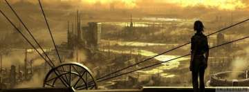 Mechanical Steampunk World Facebook cover photo