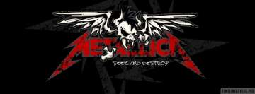 Metallica Seek and Destroy Facebook cover photo