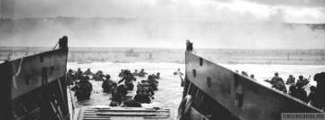 Military D Day Facebook cover photo