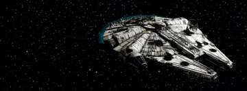 Millennium Falcon Star Wars Facebook Cover Photo