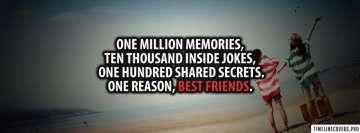 Million Memories Best Friends Facebook Cover-ups