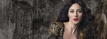 Monica Bellucci Facebook Banner