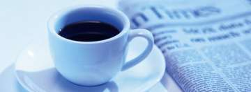 Morning Coffee Facebook cover photo