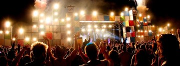 Music Crowd Festival DJ Globalgathering Facebook Cover
