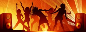 Music Dance Facebook cover photo
