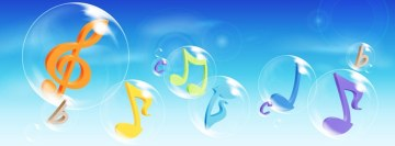 Music is in The Air Facebook Cover