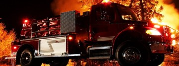 Mwf Fire Truck Facebook cover photo