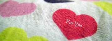My Heart for You Facebook Background TimeLine Cover