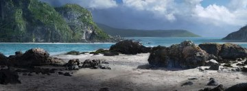Natural Wild Beach Facebook Cover Photo