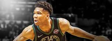 NBA Giannis Antetokounmpo Milwaukee Bucks Facebook Cover