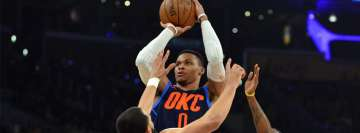 NBA Russell Westbrook Oklahoma City Thunder Facebook Cover Photo