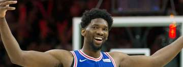 NBA Joel Embiid Philadelphia Rising Star Award