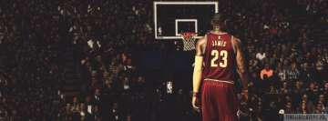 Nba Lebron James 23 Facebook cover photo
