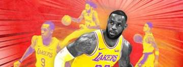 Nba Los Angeles Lakers Poster TimeLine Cover