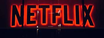 Netflix Media Lights Facebook Cover