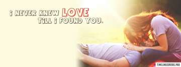 Never Knew Love Fb Cover